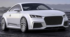2014 Audi TT quattro Sport Concept: 2.0 Liter Inline 4 TFSI with 420 Horsepower. 0 to 60 mph in 3.7 seconds.