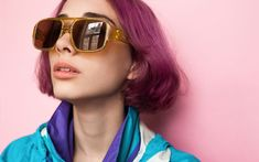 Classy chic round glasses for women style 13 ~ Dresses for Women Round Lens Sunglasses, Cute Sunglasses, Sunglasses Women, Vintage Sunglasses, Womens Fashion Online, Latest Fashion For Women, Futuristic Makeup, Lunette Style, Hot Hair Colors