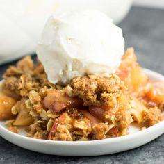 #delicious Best Vegan Apple Crisp #foodie