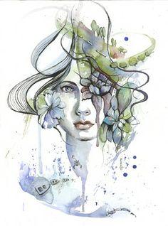 "Saatchi Online Artist Dreya Novak; Painting, ""I Love Mediterranean"" #art"