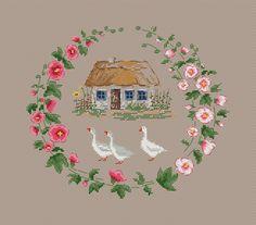 Hoop, Cross Stitch, Embroidery, Kitchen, Punto De Cruz, Needlepoint, Cooking, Seed Stitch, Kitchens