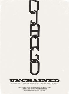 Django Unchained Movie Poster Art Print. Awesome graphic