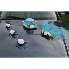 Wedding Car Decorations, Deco Nature, Wedding Events, Wedding Cars, Rose, Ideas, Valentines Day Weddings, Flowers, Wedding Bouquets