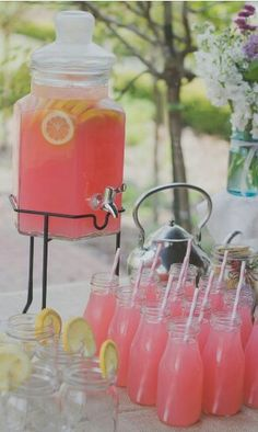 Pink lemonade, need this!!!!