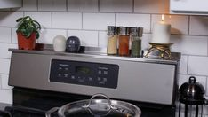 StoveShelf 30 Stainless Steel Magnetic Stove Shelf for | Etsy
