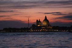 Sunset lights on Venice