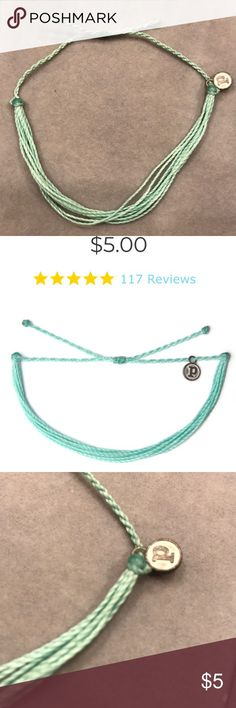 "Brand new/ hand made in Costa Rica 100% waterproof  - wax-coated  - iron-coated copper ""P"" charm  - adjustable from 2-5 inches in diameter Jewelry Bracelets"