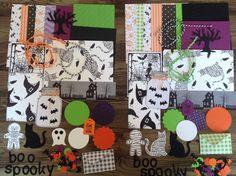 Mini kit,Mini Halloween kit,Halloween ephemera,Inspiration pack, Halloween kit, cardmaking kit, DIY kit, inspiration kit, scrapbooking kit, by PinkyPromiseBargains on Etsy