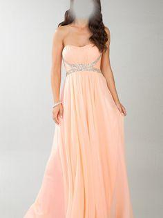 A-line Strapless Formal Dress/ Prom Dress Dress Dave & Johnny 10209
