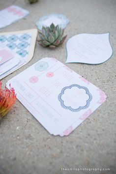 Styled Unveiled Shoot- Wedding Save the Dates