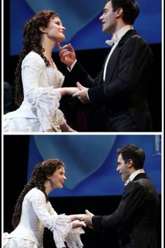 Sierra Boggess and Ramin Karimloo aka major cuties who have an amazing chemistry and friendship. Broadway Theatre, Musical Theatre, Broadway Shows, Broadway Nyc, Musicals Broadway, Love Never Dies Musical, Opera Ghost, Music Of The Night, Ramin Karimloo
