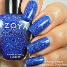 Sassy Paints: Zoya Dream from the Zenith Winter-Holiday Collection