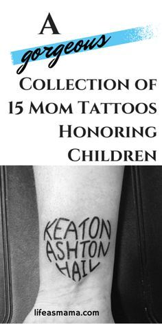 Ever thought about getting a tattoo? These moms did an ultimate act of love and honored their children with a tattoo! Gorgeous.