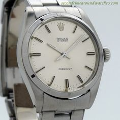 1972 Vintage Rolex Oyster Precision Ref. 6426 Stainless Steel Watch