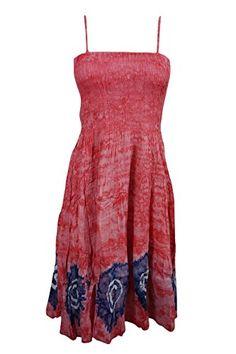 Mogul Womens Dress Batik Pink Smocked Bodice Uneven Hem G... https://www.amazon.com/dp/B071HN4P3W/ref=cm_sw_r_pi_dp_x_WsWezbJHN9VGV