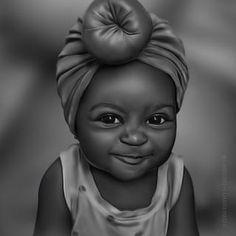 Art Black Love, Beautiful Black Girl, Black Girl Art, Black Girl Magic, Art Girl, Black Girls, Black Art Painting, Black Artwork, Art Afro Au Naturel