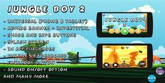 Jungle Boy 2 Android Game, Easy to reskin. Admob Ads, IAP, Multiple characters, And more . Jungle has features such as Software Version: Android 6.0, Android 5.1.x, Android 5.0, Android 4.4.x, Android 4.3.x, Android 4.2.x, Android 4.1.x, Android 4.0.4, Android 4.0.3, Android 4.0, Android 3.2, Android 3.1