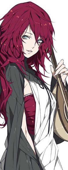anime girl red hair - Buscar con Google