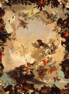 Tiepolo. Allegory of the Planets and Continents, 1752.