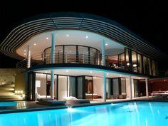 Villa, La Croix-Valmer, France by Jo Coenen Architects and Urbanists.