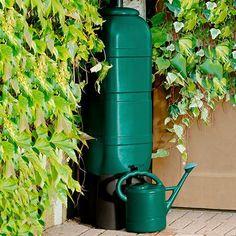Regentonne 100 Liter inkl. Stand, Ablaufhahn und Füllautomat