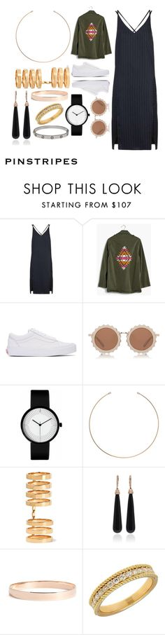"""""""Young Hollywood."""" by rozelynn on Polyvore featuring Topshop, Madewell, Vans, House of Holland, Ginette NY, Repossi, SUSAN FOSTER, Lana Jewelry, Lord & Taylor and Cartier"""