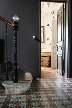 entree maison alexandra nicolas valla royal roulotte escalier