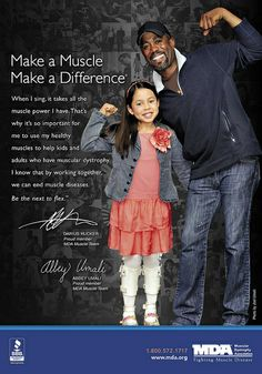 MDA Muscle Team member Darius Rucker is the next to flex for MDA in the fight against muscle disease.