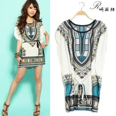 be3e48b104 Aliexpress.com   Buy 2014 New Style Fashion National Trend Dress For Women  In Summer