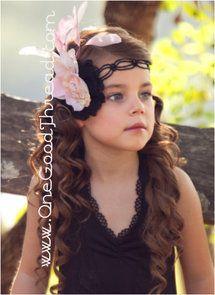 Dollcake Oh So Girly - Black Knight Headband | One Good Thread