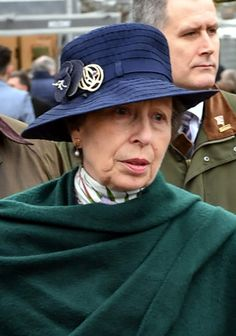 The Princess Royal, Autumn Phillips and Zara Tindall took in the final day of racing at the Cheltenham Festival, all in new hats. Princess Anne topped her navy suit and green wool wrap with a navy …