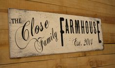 Personalized Farmhouse Decor Primitive Wood Sign Housewarming Gift Custom Name Sign Rustic Chic Decor Shabby Chic Wall Decor Wedding Gift Shabby Chic Decor Living Room, Rustic Chic Decor, Shabby Chic Bedrooms, Shabby Chic Homes, Farmhouse Decor, Farmhouse Signs, Country Farmhouse, Rustic Cottage, Primitive Wood Signs