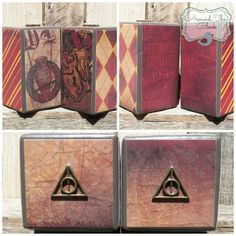 Harry Potter Wood Block Bookends
