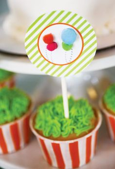 Colorful Dr. Seuss The Lorax Themed Birthday Party