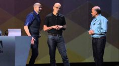 Adobe & Microsoft Partner at Adobe MAX 2014  Published on Oct 6, 2014 Our CEO Shantanu Narayen and Microsoft CEO Satya Nadella take the #AdobeMAX stage to talk about bringing creativity and productivity closer together.