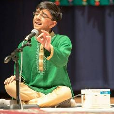 From Western #classical to traditional #Carnatic, this young man performs everything