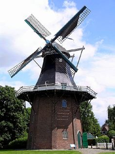 Flour and grinding mill De Onrust, Oude Pekela, the Netherlands