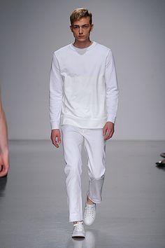 Matthew Miller, SS14 #LCM beautiful white out