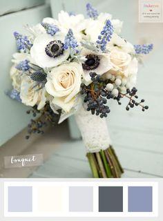 Choosing The Ideal Winter Wedding Flowers | itakeyou.co.uk #winterweddingflowers…