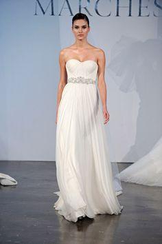 30 Beach Wedding Gowns - Marchesa