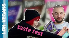 Raw Gorilla kindly sent us some of their vegan breakfast cereals to review, so we made you this video! #vegan #LDNvegans #rawgorilla