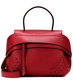 f6a0b760e6d TOD S WAVE MINI LEATHER SHOULDER BAG.  tods  bags  shoulder bags  leather