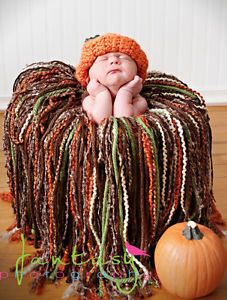 Posh Fringe Blanket Newborn Baby Photo Prop Studio FALL COLORS