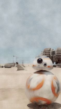 Force Awakens BB8 Bb8 Star Wars, Bb 8 Wallpaper, Episode Vii, Star Wars Episodes, Starwars, Disney Characters, Fictional Characters, Painting, Wallpapers