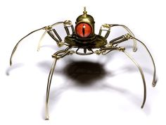 Steampunk Sculptures by CatherinetteRings