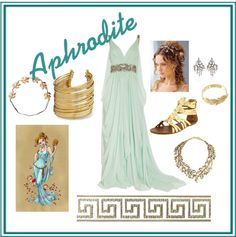 """Aphrodite - Greek Mythology"" by arsphidius on Polyvore"