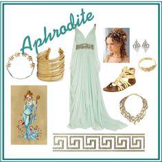 """Aphrodite - Greek Mythology"" by arsphidius on Polyvore"