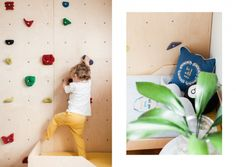 Toddler bed from birch plywood