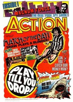 Magnum - Force - New York Spy Game - Match Of The Day - Soccer