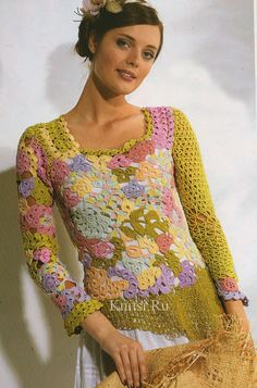 Crochet gold: T-shirts